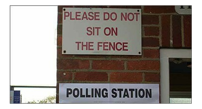 polling - dont sit on the fence
